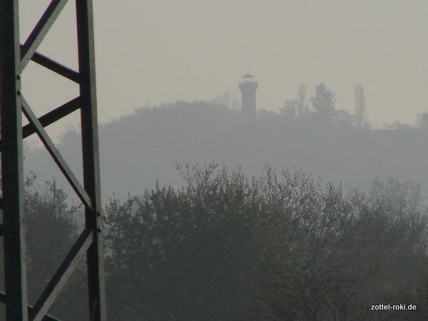 Der östliche Elbhang im Nebel